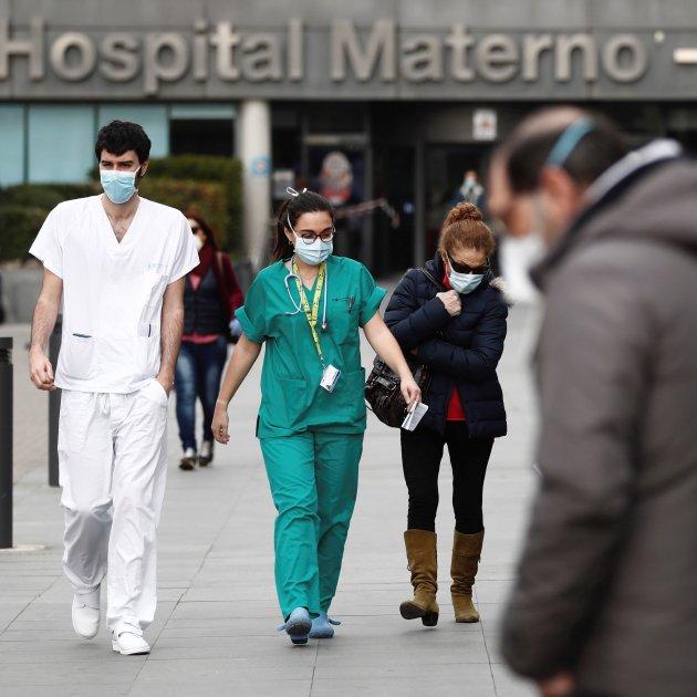 Covid-19- Dato alarmante: Más de un tercio del personal sanitario de toda España afectado. 9.450 personas.