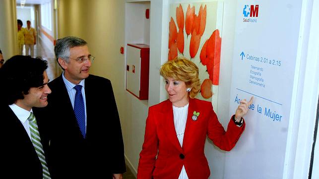 Esperanza Aguirre y su esposo afectados por Coronavirus. En la Comunidad de Madrid se disparan afectados y  fallecidos.