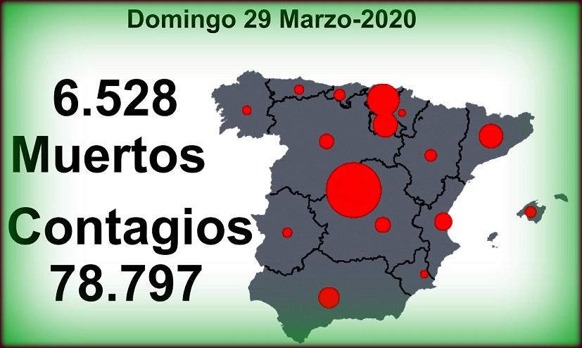 Casi 79.000 contagios de Covid-19 y 6.528 fallecidos. La Comunidad de Madrid decreta Luto Oficial en toda la Región.