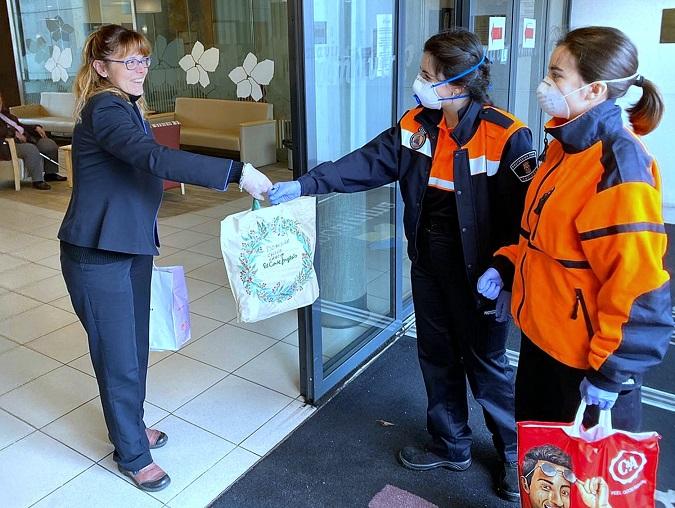 El Ayuntamiento de Coslada pone en marcha una iniciativa para que los vecinos elaboren mascarillas.
