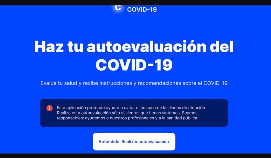 Isabel Díaz Ayuso, lanza en la Comunidad de Madrid una web para atender a posibles afectados de coronavirus.
