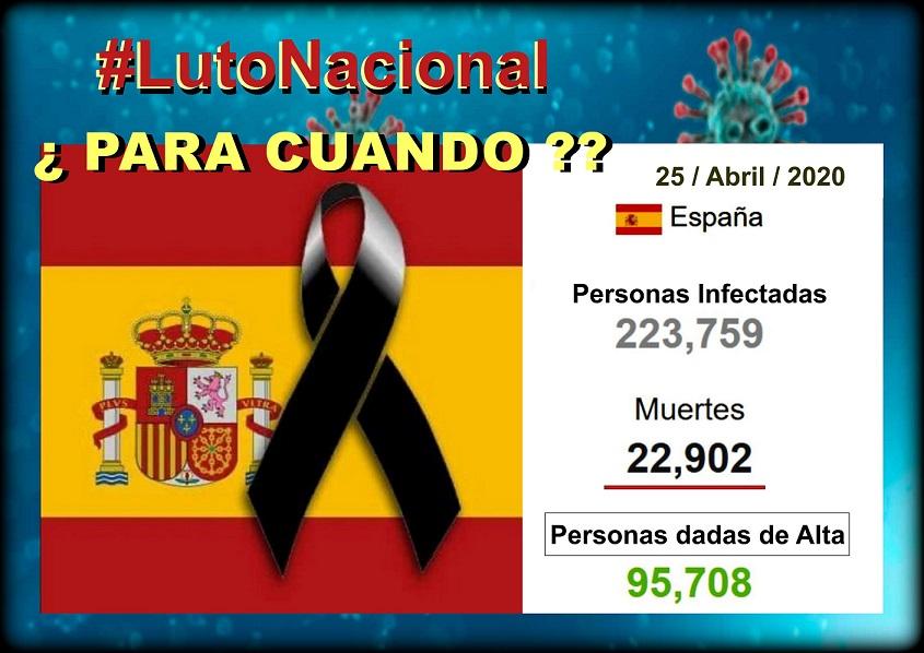 España vuelve a registrar otra subida en el número de muertos diarios con 378 fallecidos.