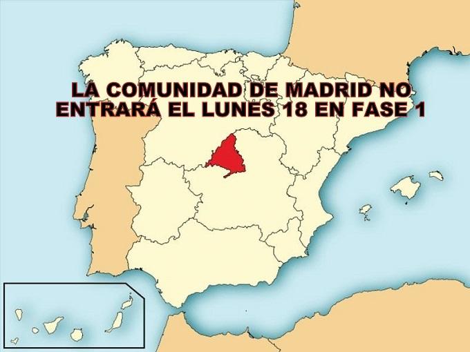 Isabel Díaz Ayuso acusa al Gobierno de paralizar Madrid otra semana más sin razones técnicas.