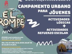 CAMPA URBANO El Rompeolas Juventud Coslada