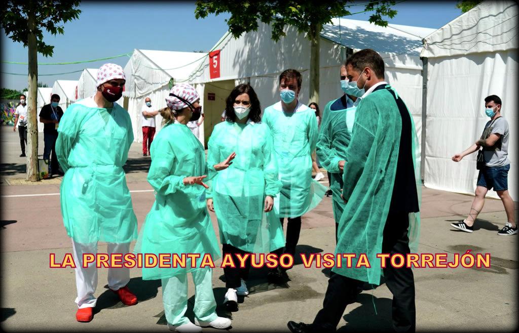Los alcaldes socialistas del Corredor, piden a Díaz Ayuso que pague los test masivos para todos los vecinos de sus Ayuntamientos.