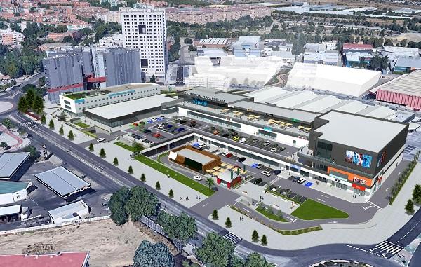 El nuevo Parque Comercial Plaza Coslada abrirá sus puertas en la primavera de 2021.