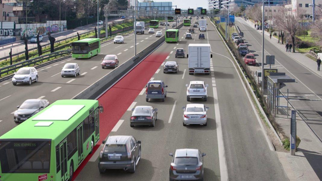 CORREDOR DEL HENARES | Transportes aprueba el proyecto para la implantación del carril Bus – VAO en la A-2.