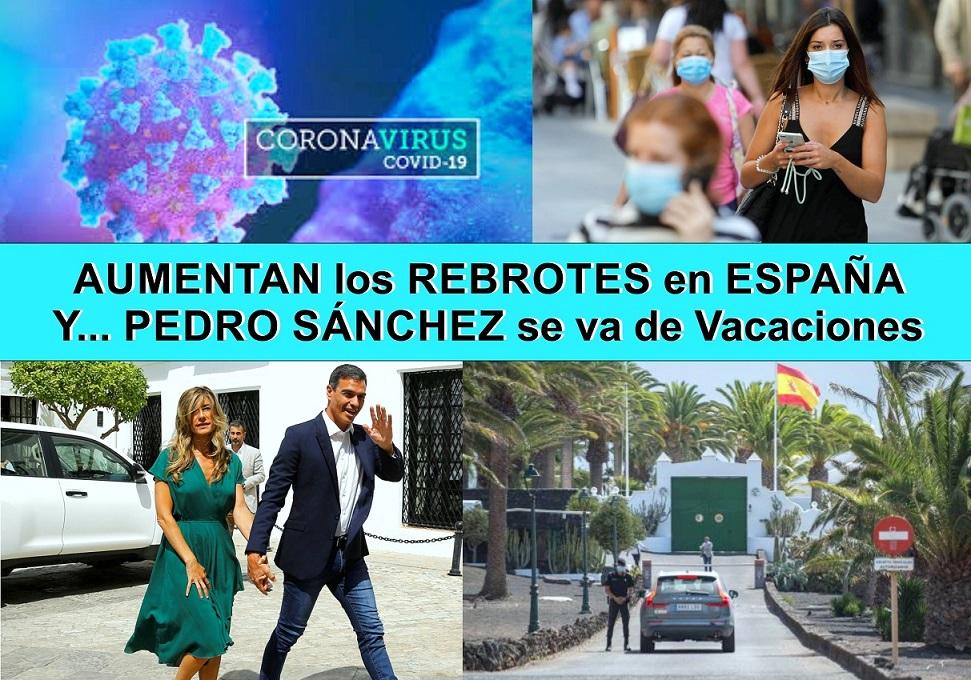 Los rebrotes de coronavirus imparables en España: Sanidad informa de 1.772 nuevos contagios en 24 horas. 600 más que ayer.