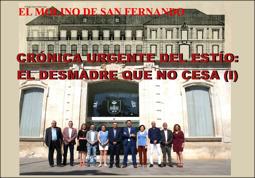 San Fernando de Hres. La A.C.C. El Molino denunciará ante la fiscalía dos de los acuerdos adoptados el 29 de Junio por el Gobierno municipal.