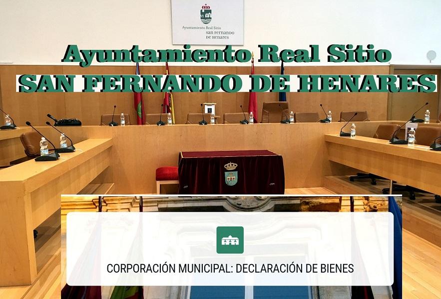 Los concejales del Ayuntamiento de San Fernando de Henares,(aunque no todos) han publicado sus declaraciones de Bienes.