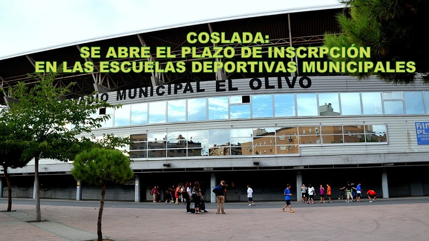 Coslada: Se abre el plazo para inscribirse en las Escuelas Deportivas  municipales.