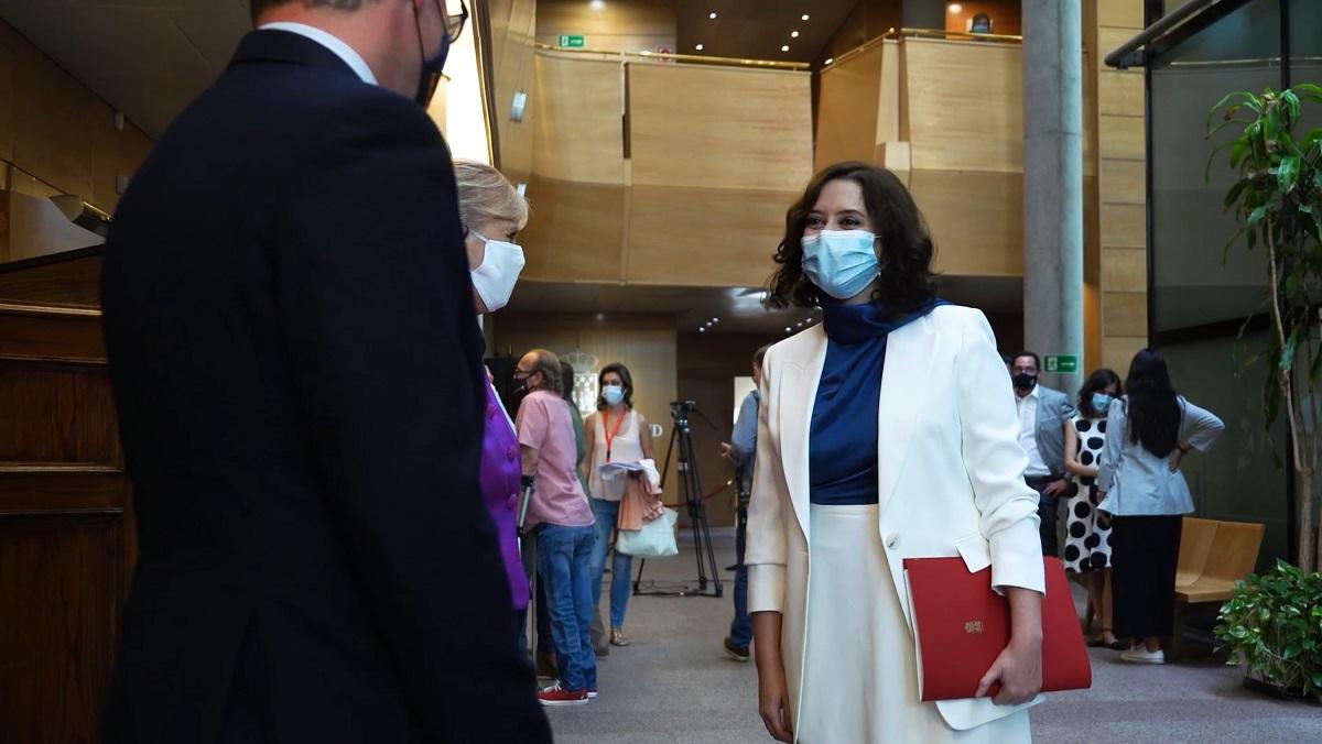 Inversión de más de 80 millones de € en Sanidad pública, 105 millones para Educación y un teléfono de emergencia anti-Okupas, entre otras medidas, anuncia Díaz Ayuso, para Madrid.