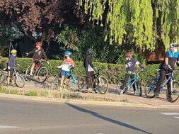 Camino escolar en bici Policía Local Coslada 2