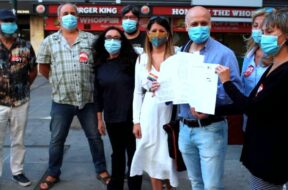 Huelga de la enseñanza en Madrid-