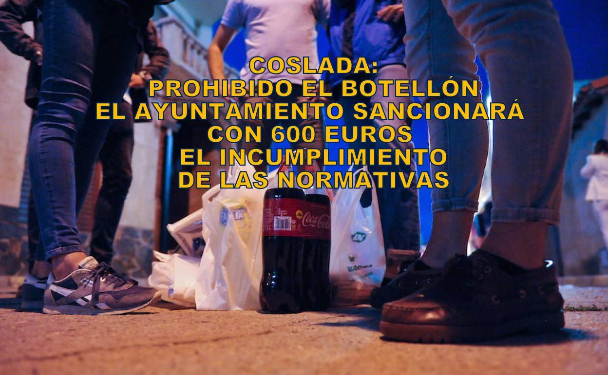 Coslada: 600 € de multa para los infractores. Un dispositivo conjunto de Policía Local y Nacional para el control de botellones, aglomeraciones y uso de mascarillas