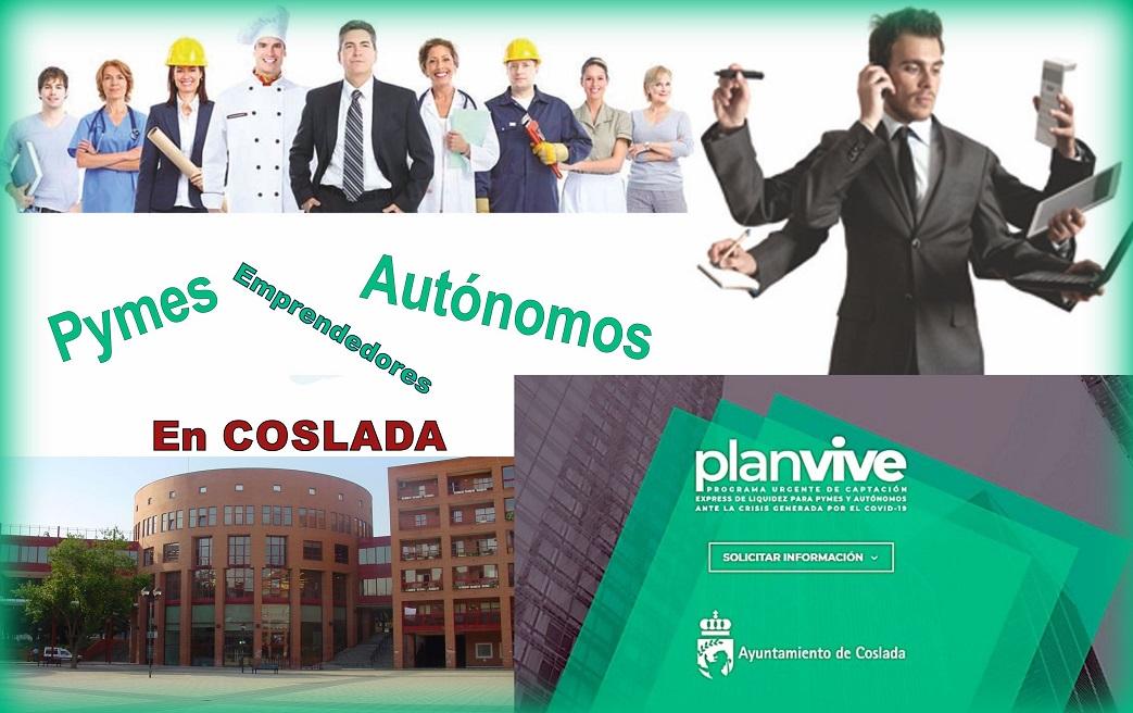 El Plan Vive se pone en marcha en Coslada destinado a asesorar a Pymes, Autónomos y Emprendedores.