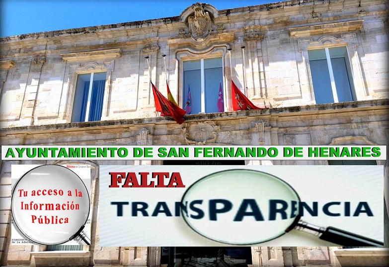 San Fernando de Henares: Falta de transparecia y caos informativo en el Ayuntamiento.