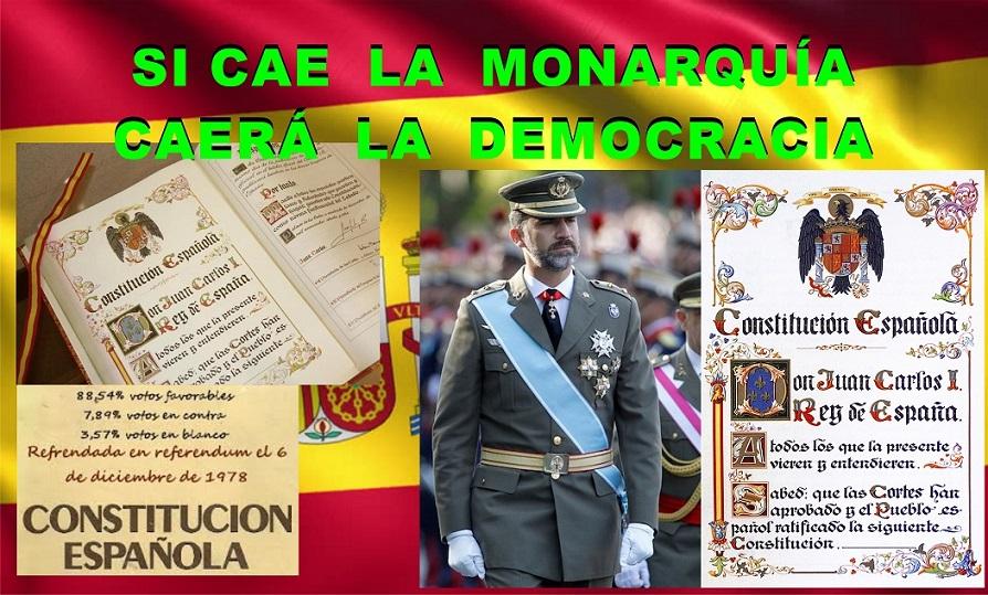 ¿Si cae la Monarquía caerán la democracia y nuestras libertades?