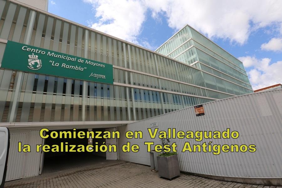 El lunes comienza en Coslada-zona de Valleaguado- la realización de los test de antígenos por parte de la Comunidad de Madrid.