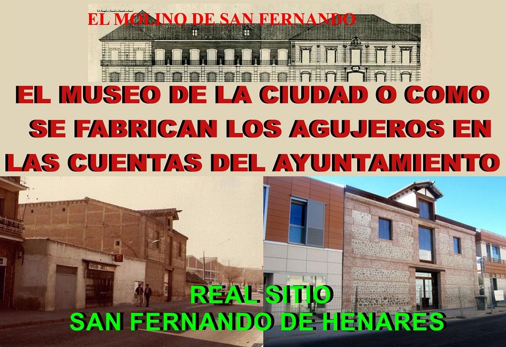 """San Fernando: """"COMO SE FABRICA (Y SE OCULTA) UN AGUJERO (DE LOS VARIOS QUE HAY) EN LAS CUENTAS PÚBLICAS DE NUESTRO AYUNTAMIENTO""""."""