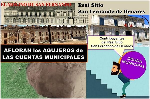 El Molino sacando a la Luz «Los Agujeros negros en las cuentas Municipales del Ayuntamiento de San Fernando de Henares»: