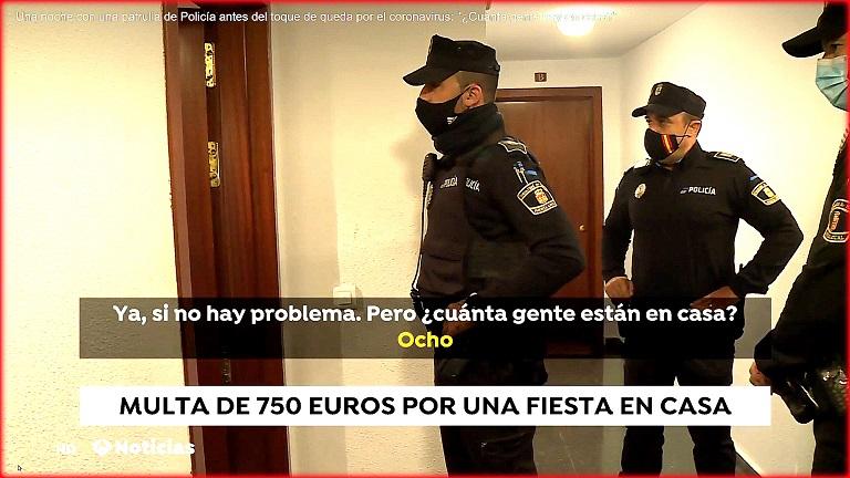 Comunidad de Madrid: La policía vigilará los botellones y fiestas privadas en domicilios durante el Estado de Alarma.