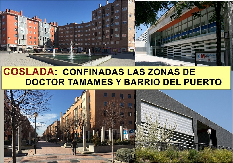 En Coslada y Majadahonda: La comunidad de Madrid suma tres nuevas Zonas básicas de Salud a las restricciones.