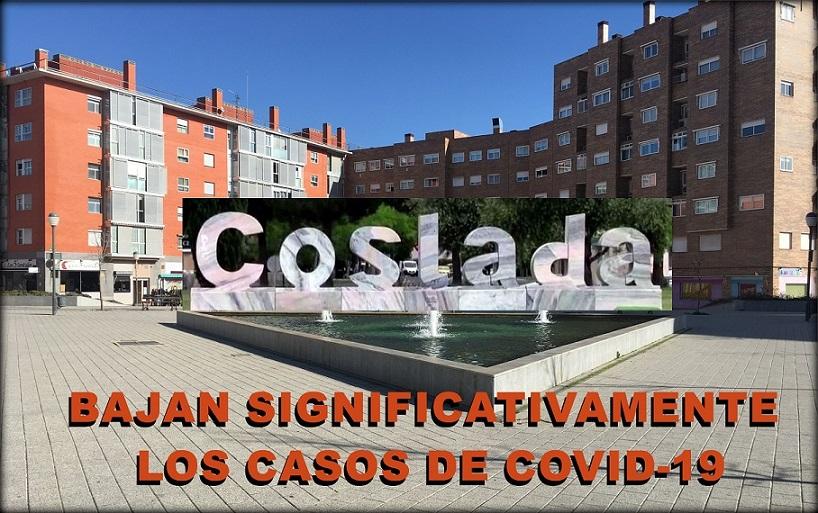 Coslada: Se reducen significativamente los casos de COVID-19 en el municipio.