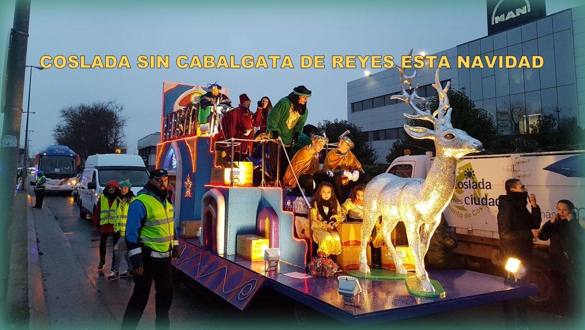 El Ayuntamiento anuncia que Coslada no tendrá Cabalgata de Reyes esta Navidad, y el PP propone destinar parte de ese presupuesto a juguetes para niños en situación de vulnerabilidad.