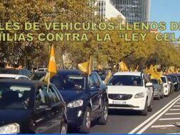 Portada manifestación en España