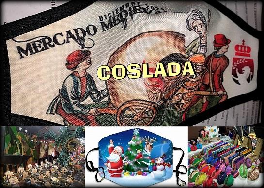 El Mercado Medieval Navideño de Coslada cierra su edición 2020.