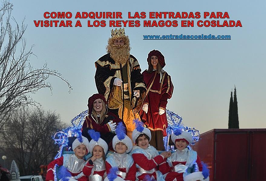 Coslada: Como conseguir las entradas para poder ver a los Reyes Magos de Oriente:
