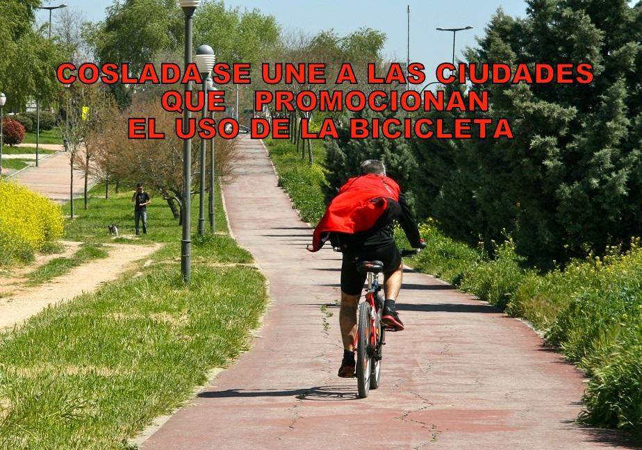 Coslada se une a la Red de Ciudades que promocionan el uso de la Bicicleta.