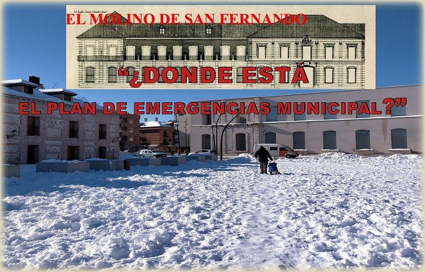 """La Asociación El Molino de San Fernando, analiza """"La tormenta Perfecta"""" y se preguntan:¿DÓNDE ESTÁ EL PLAN DE EMERGENCIAS MUNICIPAL?""""."""