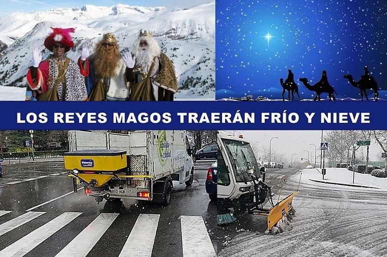 Coslada: Traerán Frío y Nieve Los Reyes Magos, además de Regalos.