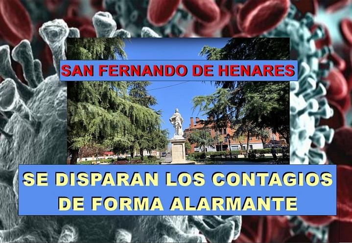El INE notifica 80.202 muertos más que en 2019,  y el Coronavirus se dispara en San Fernando de Henares con una tasa de contagios que roza ya los 1.000 con 380 nuevos infectados esta semana.