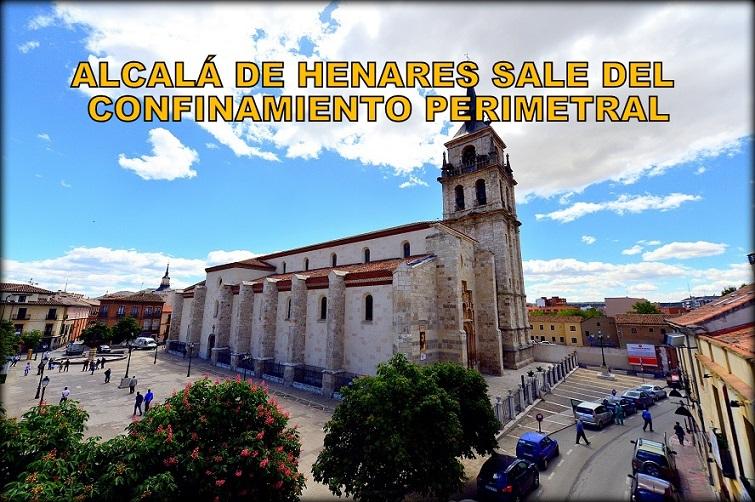 Alcalá de Henares saldrá el Lunes 22 del confinamiento pero Torrejón continuará confinado una semana más.