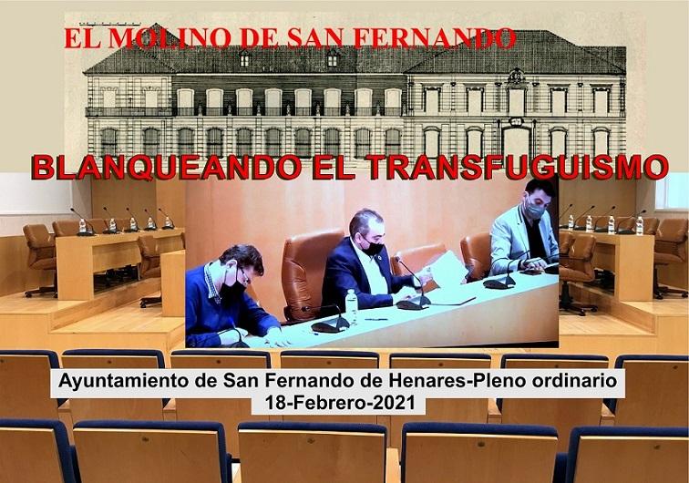 Ayuntamiendo de San Fernando de Henares: La Asociación C.C. El Molino analiza lo ocurrido en el pleno del  pasado 18 de Febrero.