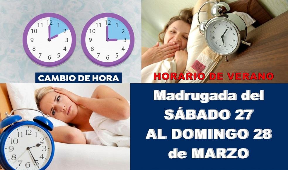 Cambio a horario de Verano: Este domingo a las 2 serán las 3h. ¿Una hora menos de Sueño?