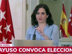 Portada- Ayuso convoca elecciones