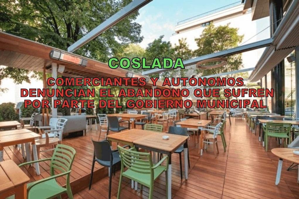 Comerciantes y Autónomos de Coslada denuncian que el Ayuntamiento les ignora y en plena crisis, les abandona a su suerte.