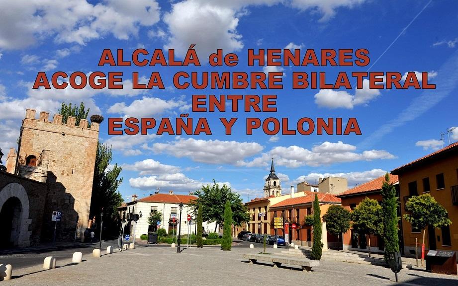 Alcalá de Henares acoge el lunes 31 la cumbre bilateral entre España y Polonia.