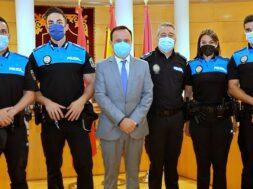 4nuevos Policías Locales.