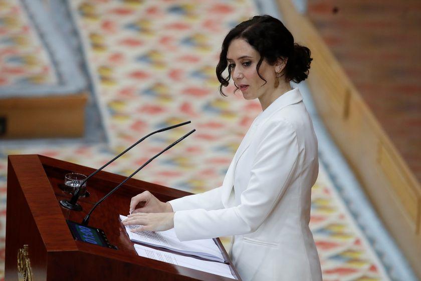 Díaz Ayuso anuncia el mayor plan de natalidad de la Historia de la Comunidad con una ayuda de 14.500 euros por hijos para madres menores de 30 años.