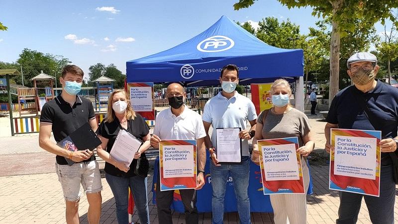 """El PP Inicia una campaña de recogida de Firmas contra los Indultos del Gobierno a los condenados del """"Proces"""" Catalán."""