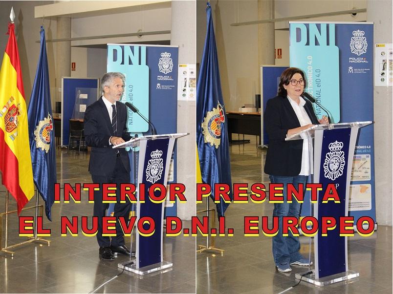 Interior presenta el NUEVO D.N.I. adaptado a la legislación de la UE sobre identidad digital.