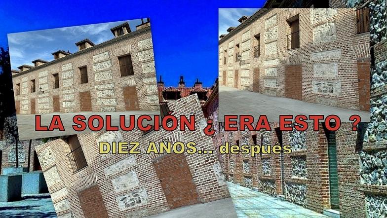 La Asoc. El Molino informa sobre la actual situación del «Caso Plaza de España» en San Fernando de Henares.