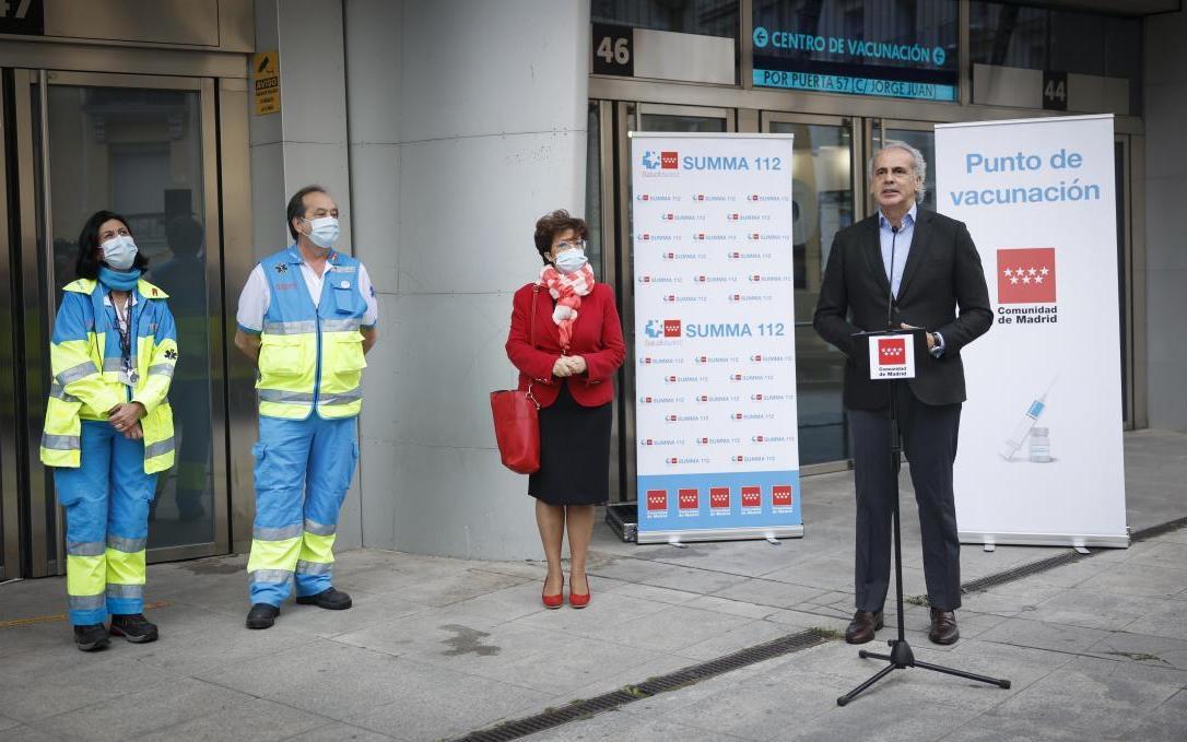 La Comunidad de Madrid denuncia que el Gobierno de Sánchez no les facilita las vacunas necesarias, y ve «comprometido» el objetivo del 70% de población vacunada en agosto ante la falta de dosis.
