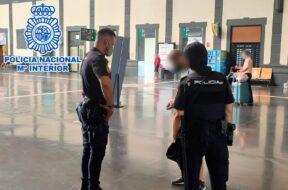 Agentes Policía Nacional.