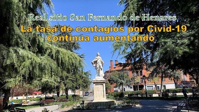San Fernando de Henares una vez más a la cabeza de los grandes municipios con una incidencia de 836.